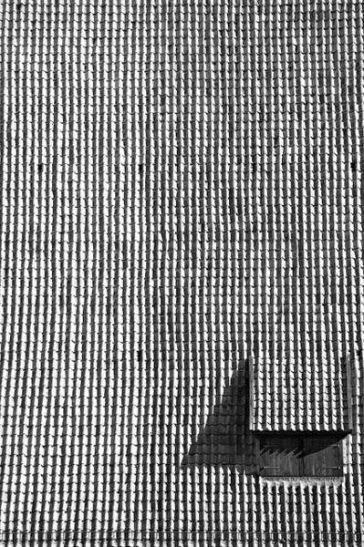 tiles, window: Window Architecture Building, Dormer Window, Roof Tile, Black And White, Beautiful Texture, Window Building Architecture, Abstract Photography, Alberto Dati, Cool Photos