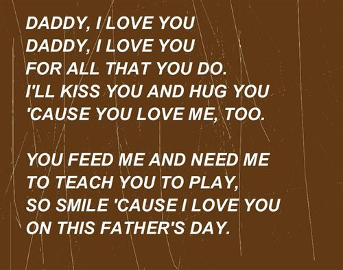 Funny Daughter to Father Poems | Famous Short Funny Fathers