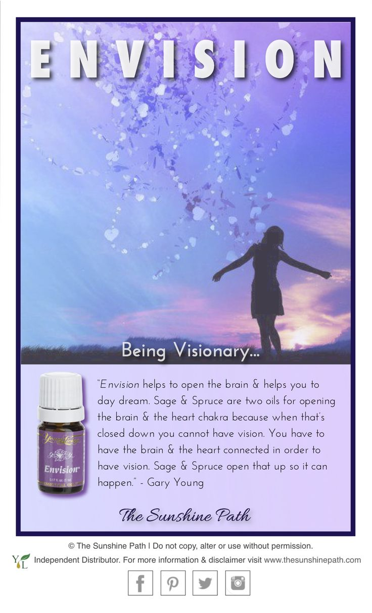 Envision Essentia Loil From Young Living A Soothing