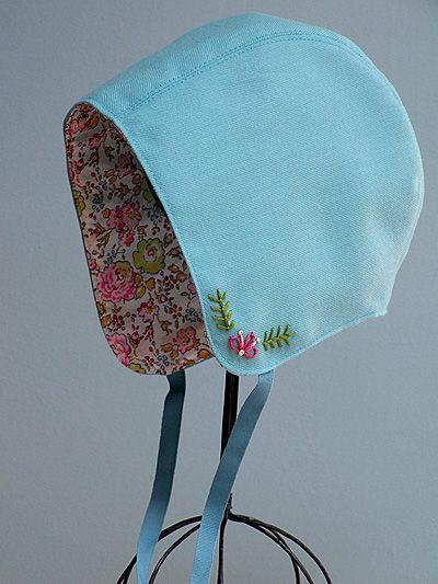 SO Sweet!! Storybook Woods Baby Bonnet Sewing Pattern