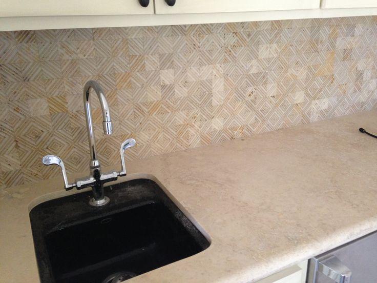 2x2 Quilt Stone Mosaic Honed Finish / exterior interior bathroom Traditional, contemporary modern shower walls floor kitchen backsplash ceramic porcelain / CTM Tile 310-379-7646 www.ctmdealer.com
