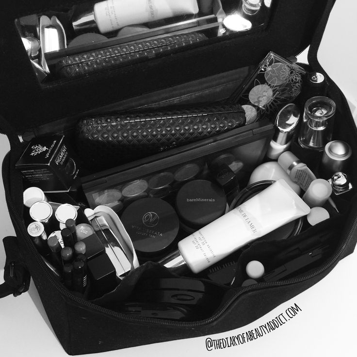 #AugustBeautyChallenge - Day Eighteen - Make Up Storage - At the moment I'm limited to a MAC Carry Case for my Make Up and Skincare and anything that doesn't squeeze into it has to be stashed into my underwear draw which isn't ideal! So I can't wait to get my vanity table set up and have all my make up organised and in one place! #TheBeautyAddict