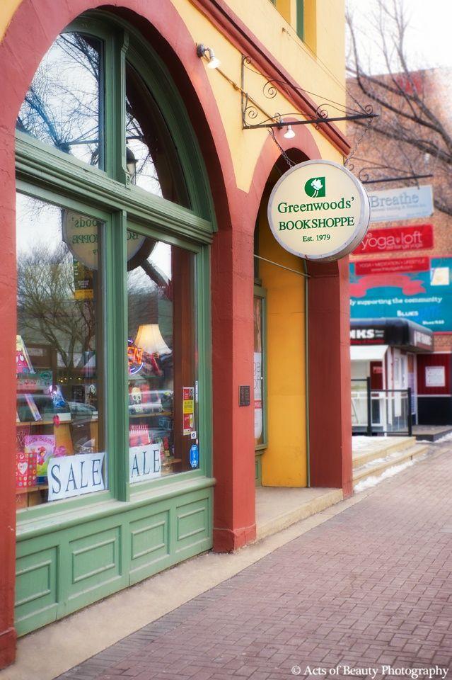 Greenwoods' Bookshoppe in Edmonton, Alberta