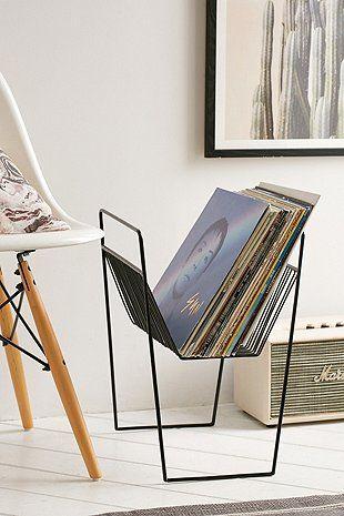 Étagère de rangement pour vinyles Vincent