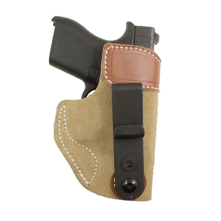 DeSantis Sof-Tuck Glock 42 Holster - Brown/Tan Right Hand