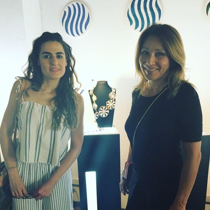 Con Marina Ettorri da Sensi & Bijou
