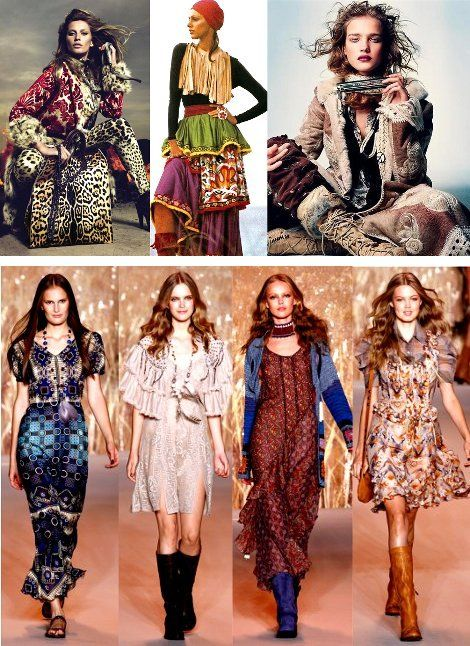 Boho Chic Became A Very Popular Style In The 2000 39 S Inspired By The Vintage Clothing Look