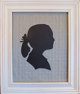 How to make your own Silhouettes. LOVE LOVE LOVE this!