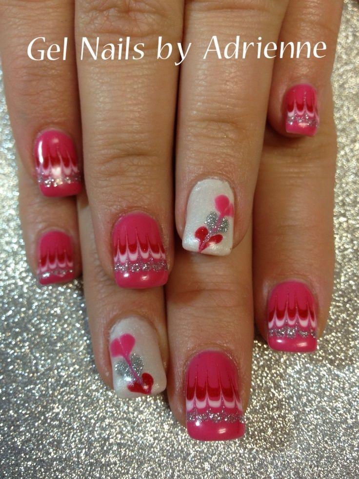 Valentine nails...