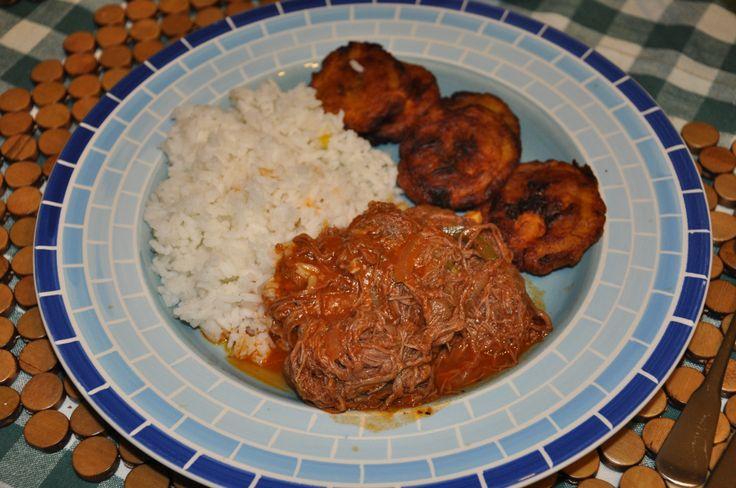 Cuban Ropa Vieja in crockpot