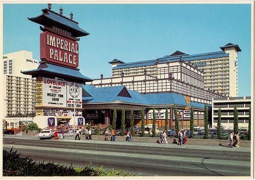 RETRO LAS VEGAS: 1980s Imperial Palace Postcard