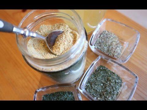 (47) LIFE HACK: homemade VEGETABLE STOCK POWDER recipe (vegan) - YouTube  אבקת מרק ירקות מיובשת בתנור וטחונה