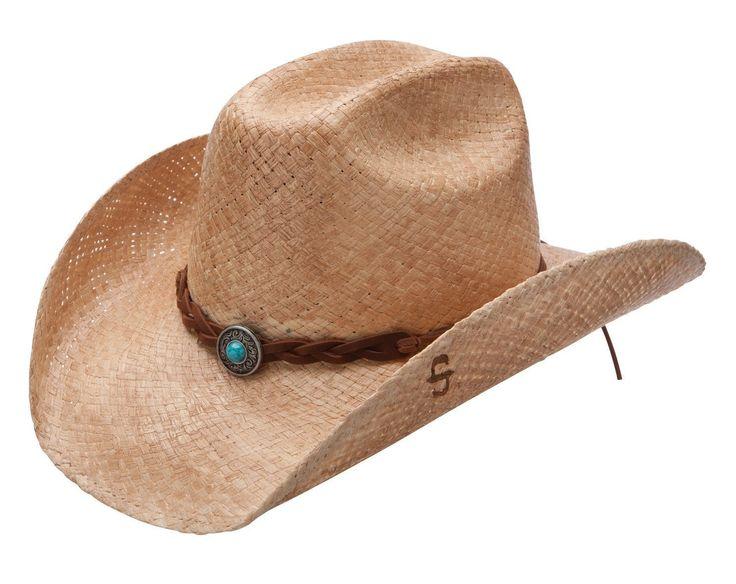 Stetson Straw Hat Flatrock [SSFLTR-7434]