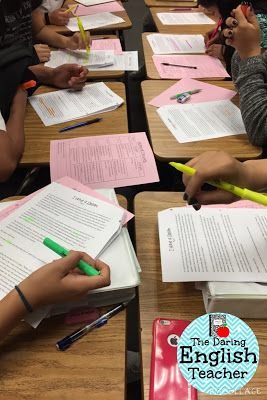 The Daring English Teacher: Close Reading Strategies That Work