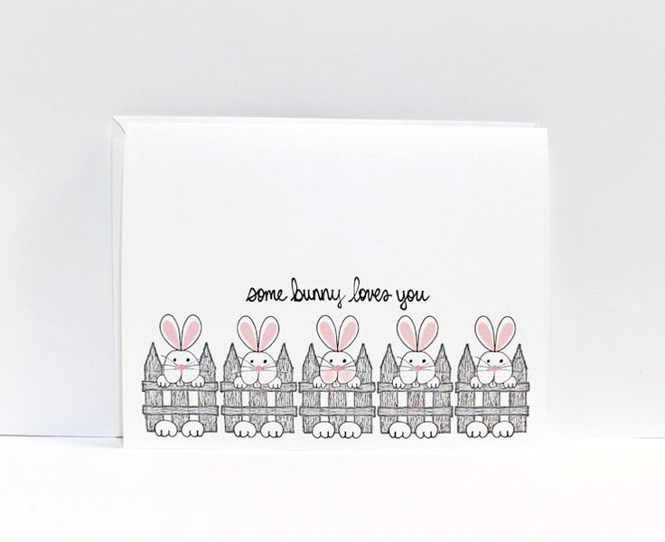 "Send this adorable ""Some Bunny Loves You"" Free Easter eCard to the ones you love the most!"