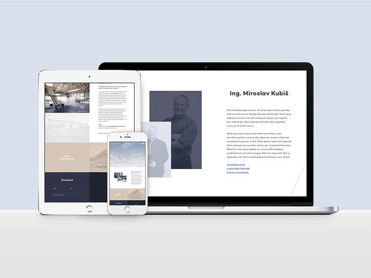 Erial webdesign by Michal Slovák