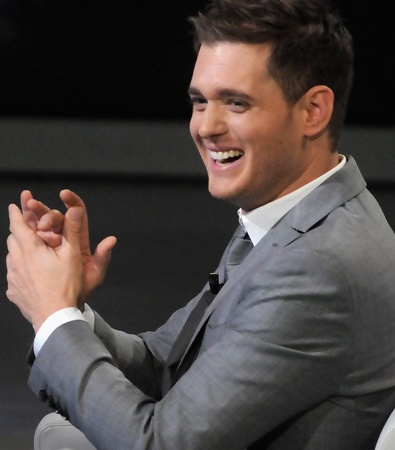 Michael Buble...he sings, he's gorgeous, and he's an amazing person....