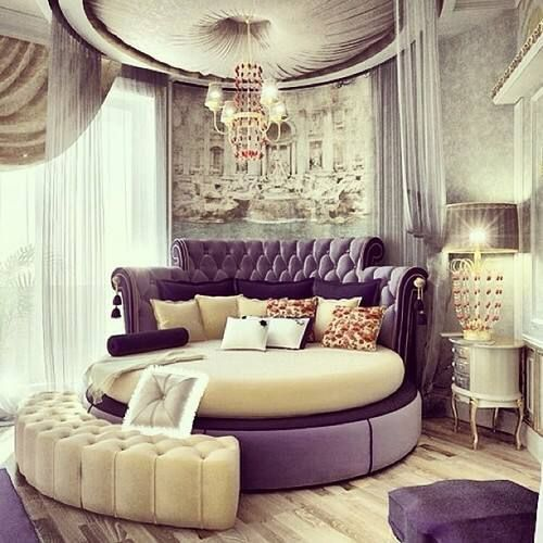 27 Round Beds That Will Spice Up Your Bedroom. 17 Best ideas about Fancy Bedroom on Pinterest   Glam master