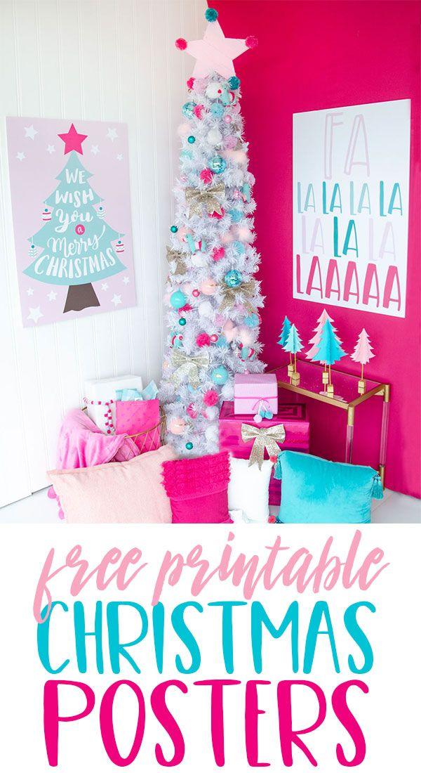 PRINTABLE Merry Christmas Backdrop by Lindi Haws of DIY Backrop