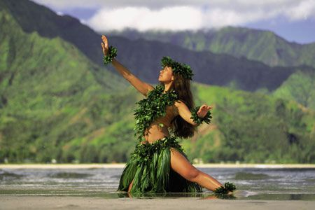 I love hula kahiko.  I love the power and grace that goes into it.  The stories behind the hula are sometimes so powerful it gives you chicken skin.