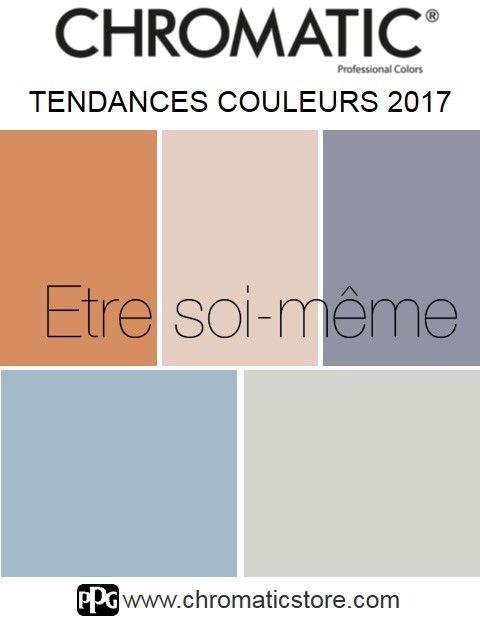 Tendances CHROMATIC 2017 : découvrez l'univers #couleur du thème #Etre #soi-même et trouvez l'inspiration! www.chromaticstore.com