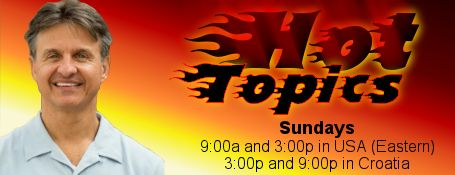 Hot Topics, the internet radio program that answers the hard questions about culture, customs, religion, and worldview, with insightful Biblical perspective. Hosted every Sunday by Dr. Andrew Vuksic. 9 AM & 3 PM EST on GraceNetRadio.com