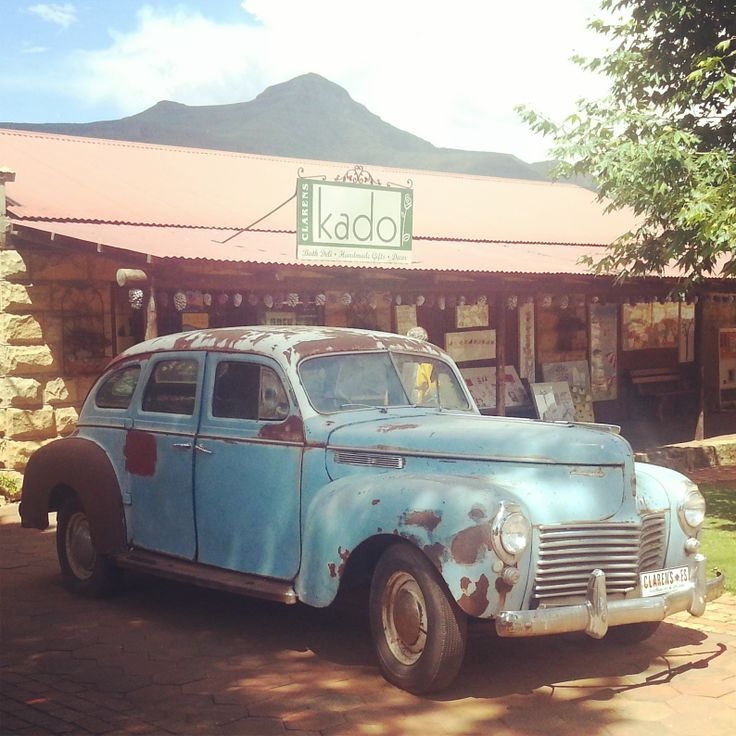 Old Chevy in Clarens