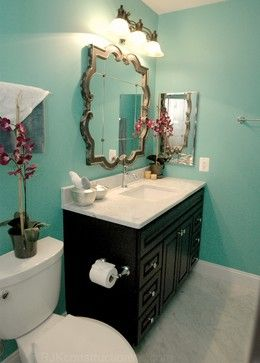 Black Bathroom Vanity Design Ideas, Pictures, Remodel, and Decor (master bath)