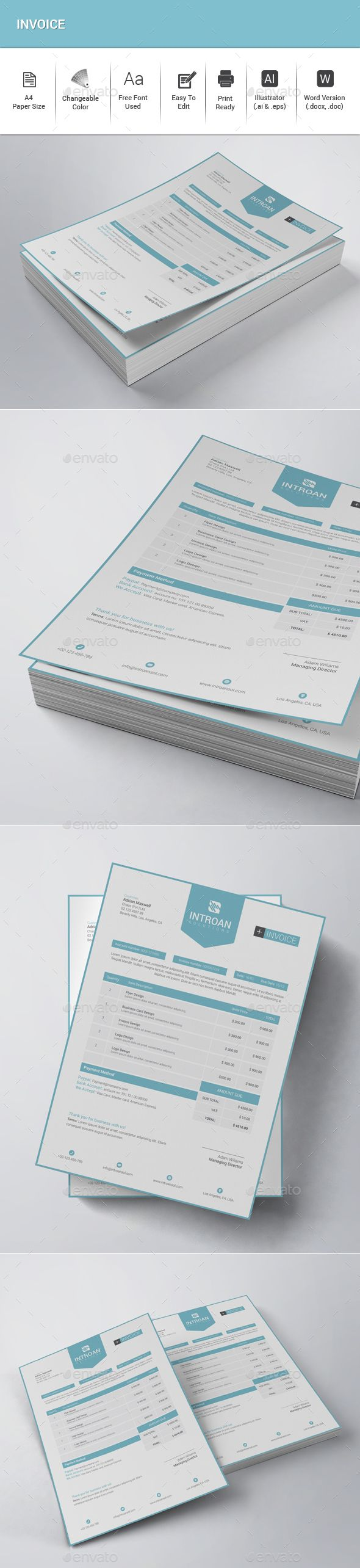 17 best ideas about letterhead sample on pinterest | letterhead, Invoice examples