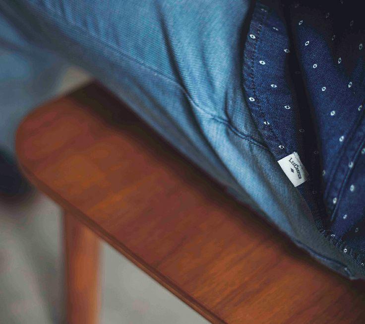 Long sleeve shirt Hayes Printed Denim IDR 469.500 & Pants Denim Luke IDR 689.500