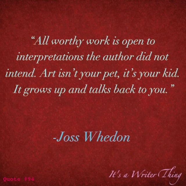 Joss Whedon.