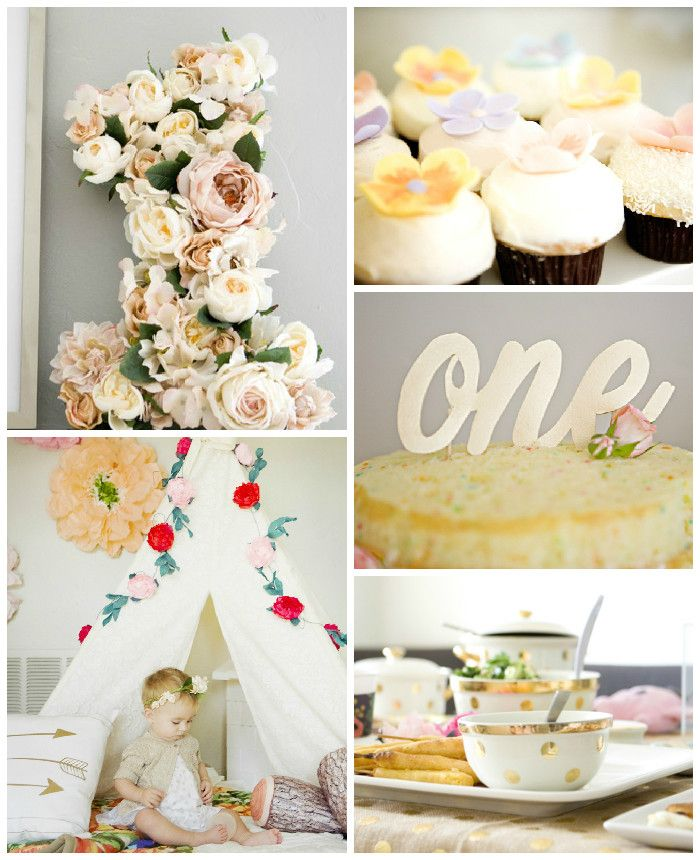 Floral Birthday Party via Kara's Party Ideas KarasPartyIdeas.com #floralparty (2)