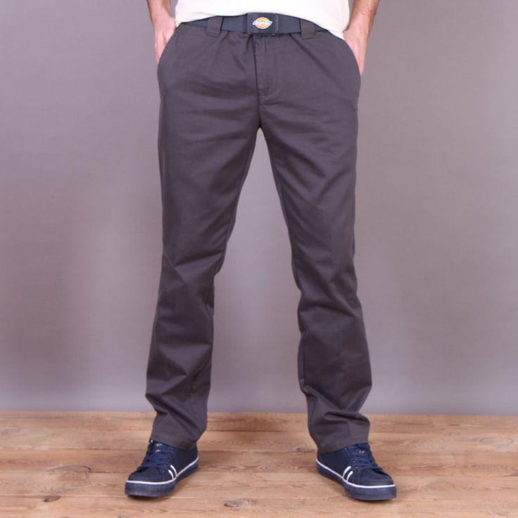 Grafitowe spodnie Dickies C182 GD Pant Charcoal Gray / www.brandsplanet.pl / #dickies streetwear
