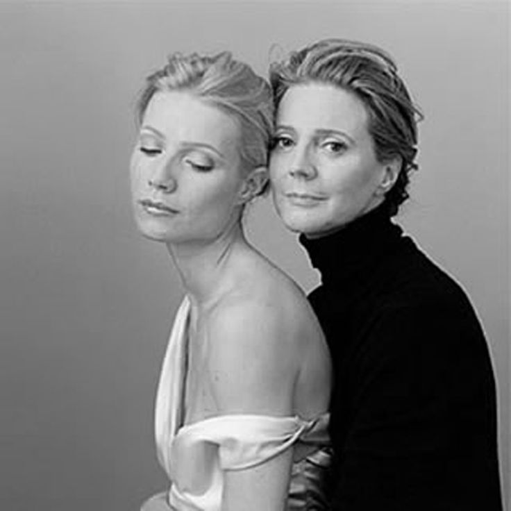 Gwyneth Paltrow and her mother Blythe Banner.