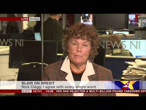 Kate Hoey discussing the return of Mr Blair BBC News 17 02 2017