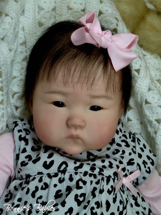 Bonnies Babies Reborn Prototype Ping Lau 034 Anming 034 Beautiful Asian Baby Girl   eBay