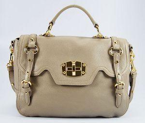 http://www.miumiu-shoppings.com/ 2013miumiu ハンドバッグ 86302-1 あんずいろ【正規品保証付】