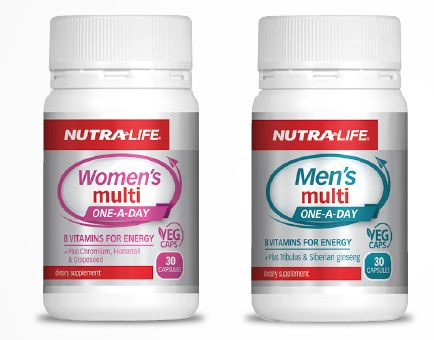 Stock up on multivitamins for the family from Life Pharmacy this Winter -  these Nutra-life multivitamins are only $9.99