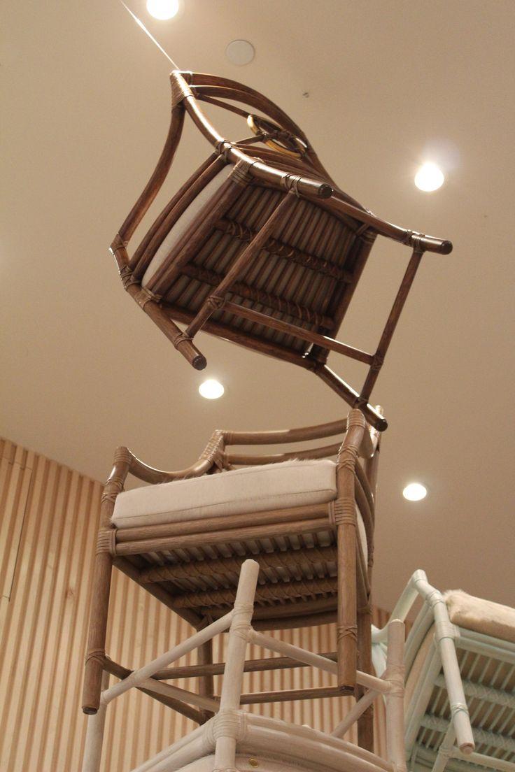 The Floating Rattan Target Arm Chair · Side ChairsRattanFurniture  DesignShowroomSan FranciscoTargetSan ...