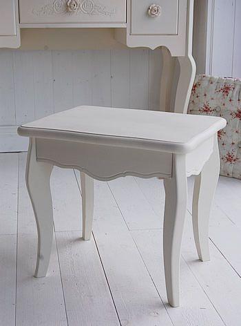 Cream Dressing Table Stool