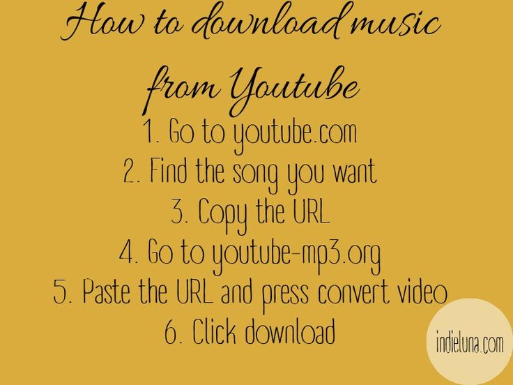 How to download music from Youtube LIFE HACK