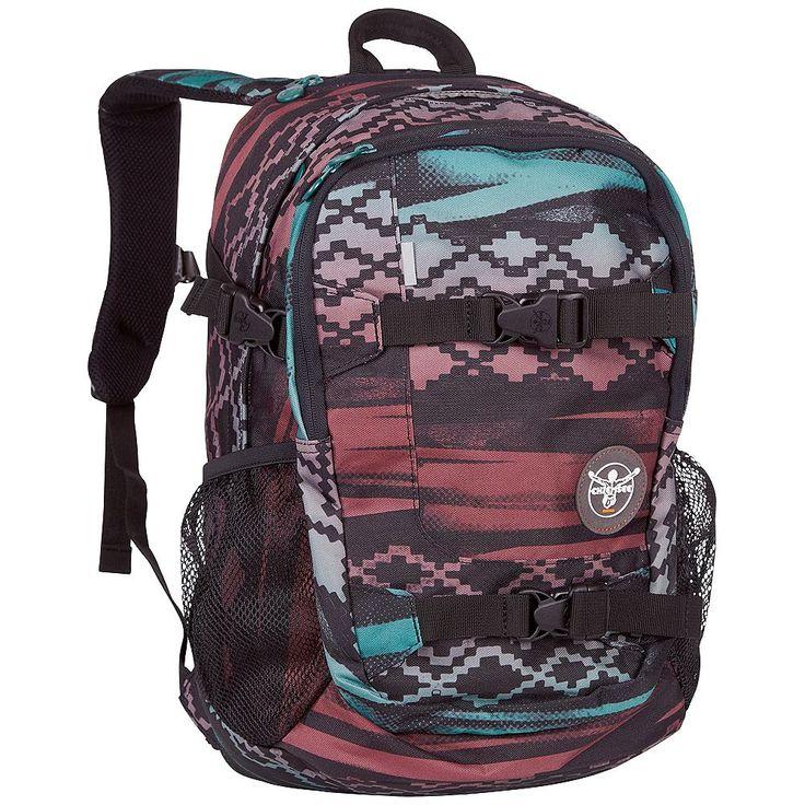 Der kindgerechte Chiemsee Rucksack SCHOOL ist ein Rucksack mit Gurt zum Transportieren eines Skateboards, einem großen Hauptfach mit Laptopfach, Netzfächer an beiden Seiten und einem zusätzlichen Spanngurt an beiden Seiten. Die gepolsterten Schultergurten mit integriertem Griff und der abnehmbarer Hüftgurt entlasten die Schultern von direktem Druckempfinden. In den Rucksack passen auch DIN A4 O...