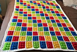 This pattern is simple and fun! Make one block, or make a whole blanket, it's really up to you!