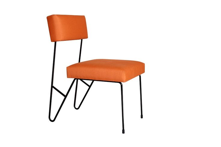 Buy Fay Outdoor Dining Chair by Heather Ashton Design - Made-to-Order designer Furniture from Dering Hall's collection of Contemporary Mid-Century / Modern Dining Chairs.