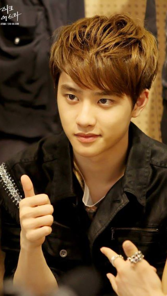 Such a pretty, perfect boy. I love ya D.O umma