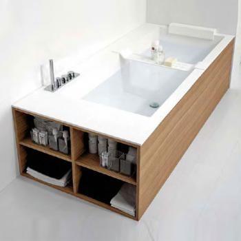 Badewanne einmauern mit ablage  Die besten 25+ Badewanne ablage Ideen nur auf Pinterest | Yes ...