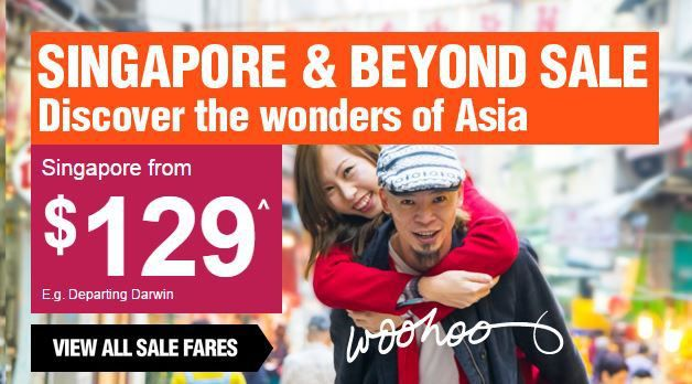Jetstar Sale Singapore Flights From $129