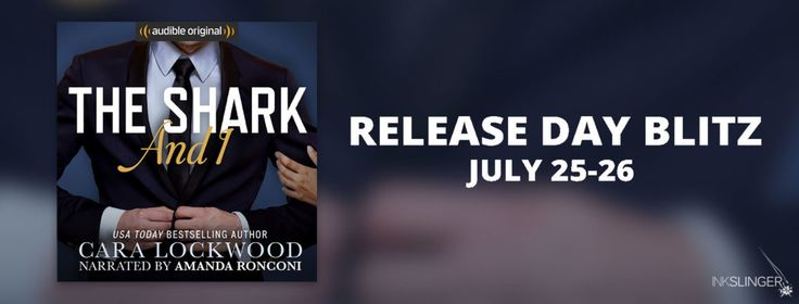Release Day Launch for THE SHARK AND I by Cara Lockwood!   Today we have the release blitz for the amazing The Shark and I by Cara Lockwood. Check out this fantastic new audio book and grab your copy today!  About The Shark & I:  They tell you there are plenty of fish in the sea but nobody mentions the sharks. Plunge into this hot hilarious audio-first romance by USA Today bestselling author Cara Lockwood! Getting back into the dating scene is never easy but imagine my surprise when I sign…