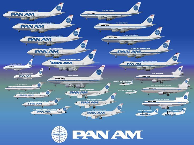 Pan Am Airlines - Pan American Airways Information Facts History