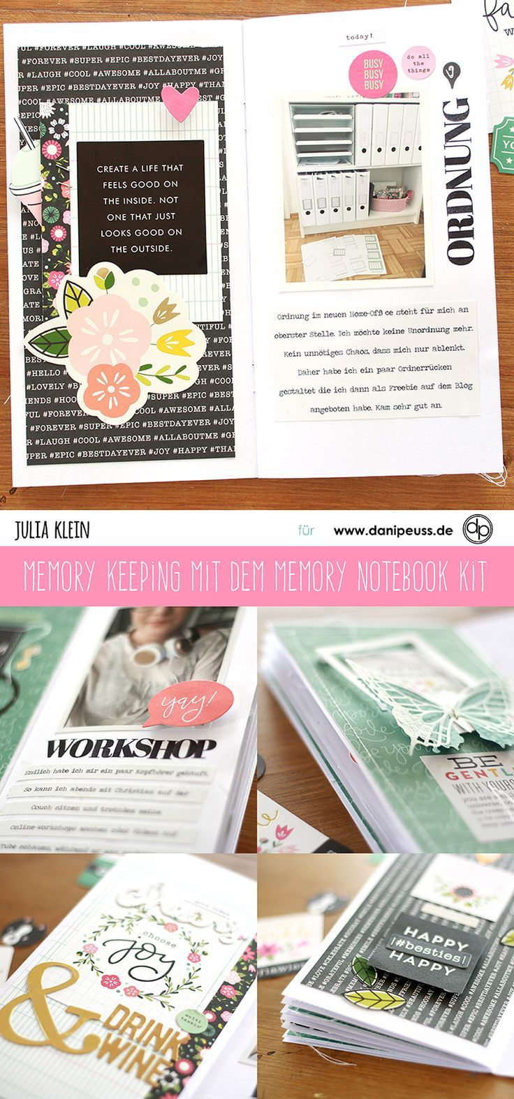 Memory Keeping mit dem September Memory Notebook Kit | von